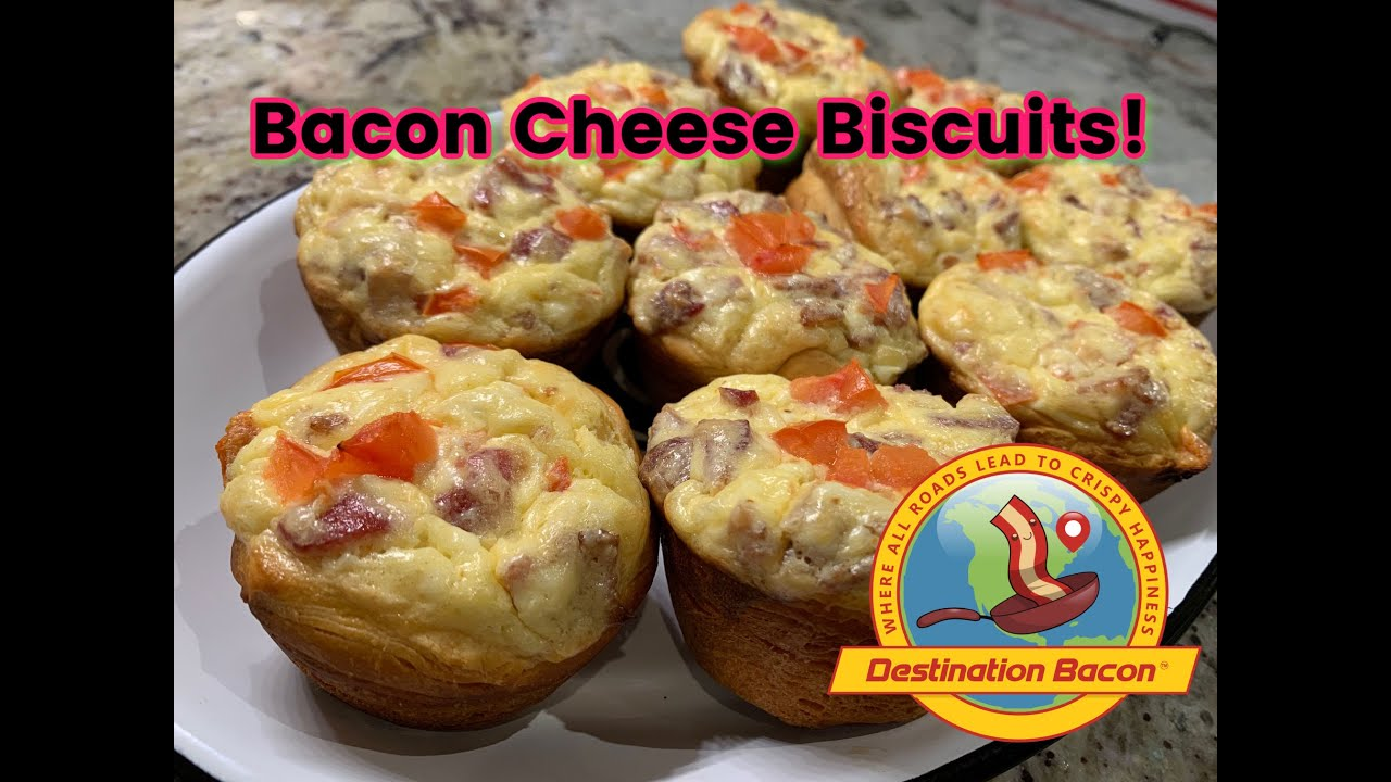 How to Make Bacon Cheese Biscuits