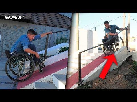 24 horas en una silla de ruedas. El video que cambió mi vida