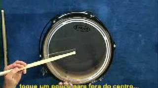 Bob Gatzen Afinacao de Bateria Parte 2 - Tontom (LEGENDADO) thumbnail