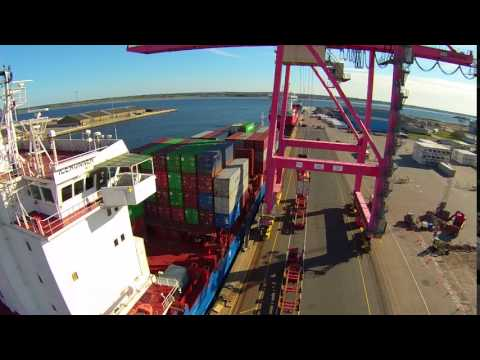Port of Aalborg containership