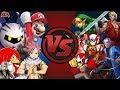 NINTENDO vs CAPCOM vs SEGA vs ANIME & MORE! (Cartoon Flght CIub Rewind Replay)