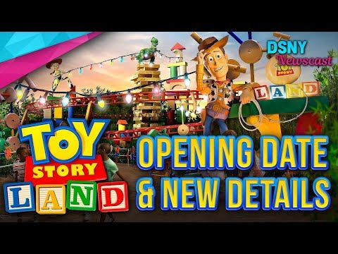 OPENING DATE & New Details for TOY STORY LAND at Disney World - Disney News - 2/16/18