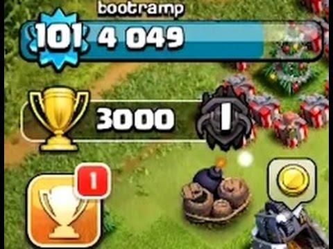 Clash Of Clans | 3000 TROPHIES | MEGA LOOT BONUS MAX TROOP ATTACKS