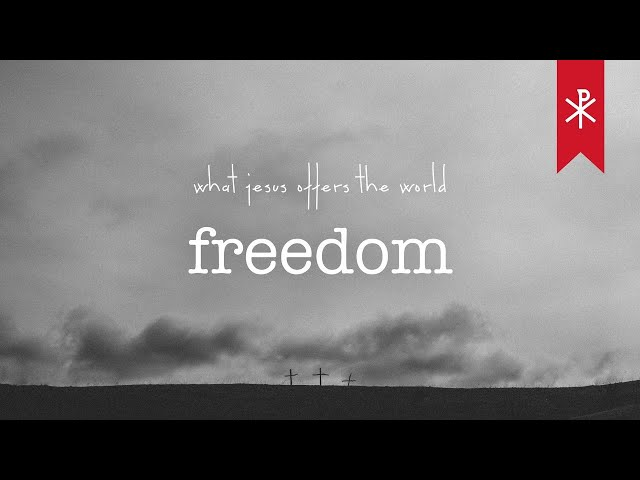 21 March 2021 Livestream | What Jesus offers the world - FREEDOM
