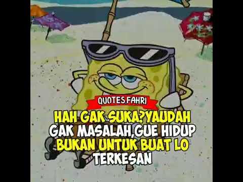 Story Wa Santuy Spongebob Youtube