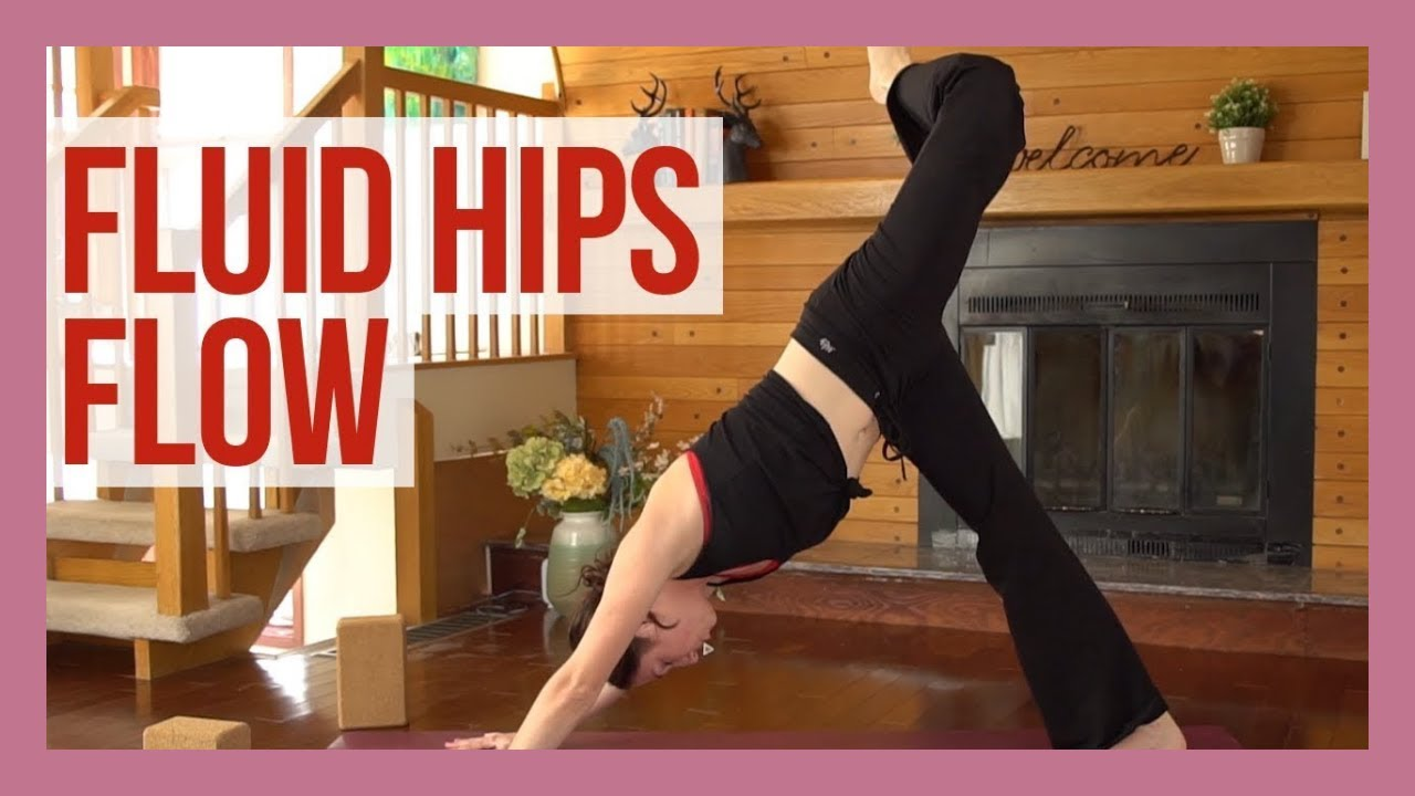15 min Hip Opening Flow - Vinyasa Yoga Hip Stretches