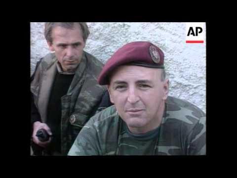 BOSNIA/CROATIA: WARLORD ARKAN - PROFILE (2)