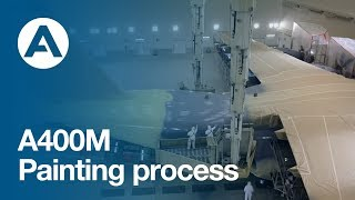 A400M Painting Process