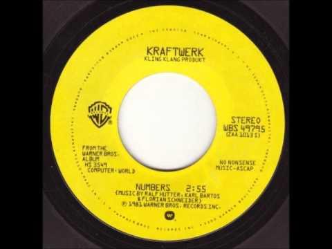Kraftwerk  Numbers US Promo Single 1981