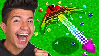 How to Craft a $3,000,000 GOD Pickaxe!  Minecraft