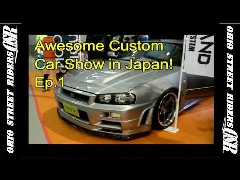 Awesome Custom Car Show in Japan! JDM Skylines, VIPs, LEDs and Much More!
