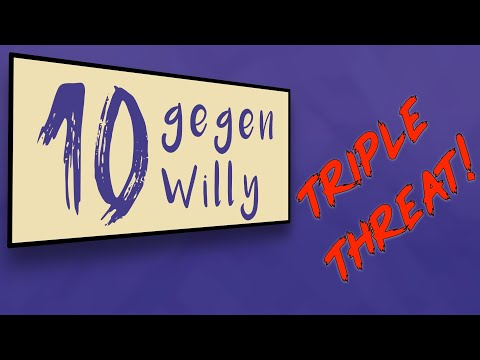Das Triple Threat Match | 10 gegen Willy