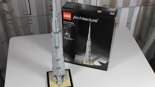 LEGO Architecture Set 21031 Burj Khalifa Unboxing & Review deutsch german