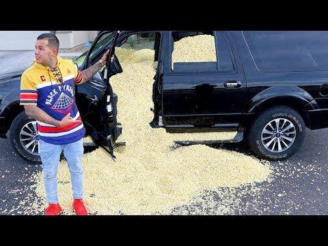 POPCORN CAR PRANK!!!