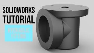 SolidWorks Tutorial #32: Hydraulic Fitting