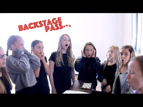 BACKSTAGE PASS: Rehearsals for Women in Theatre Medley