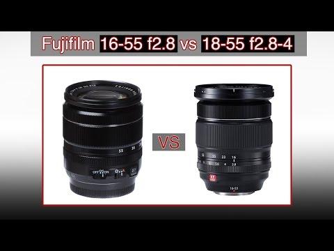 Fujifilm Lens Comparison: 16-55mm F2.8 Vs 18-55mm F2.8-4