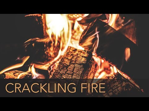 Crackling Fireplace - 3 Hours - [HD] - Sleep to the Relaxing ...