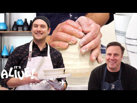 Brad Tries Pottery | It's Alive: Goin' Places | Bon Apptit