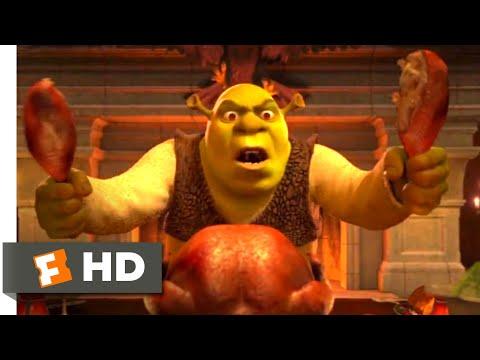 Shrek 2 (2004) - An Awkward Dinner Scene (2/10) | Movieclips