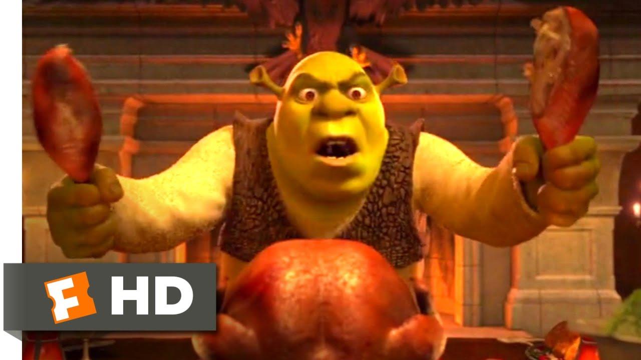 Download Shrek 2 (2004) - An Awkward Dinner Scene (2/10)   Movieclips