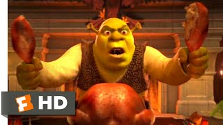 Shrek 2 (2004) - An Awkward Dinner Scene (2/10)