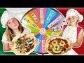 MYSTERY WHEEL OF PIZZA CHALLENGE - ROUE DE LA FORTUNE PIZZA CHALLENGE ! français may 2018