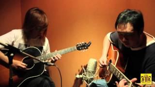 黄韵仁Eric Ng jamming with David Ng(FM Pop Music School guitar instructor)