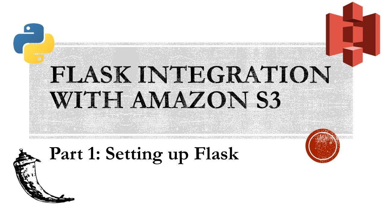 Flask with Amazon S3 Part I