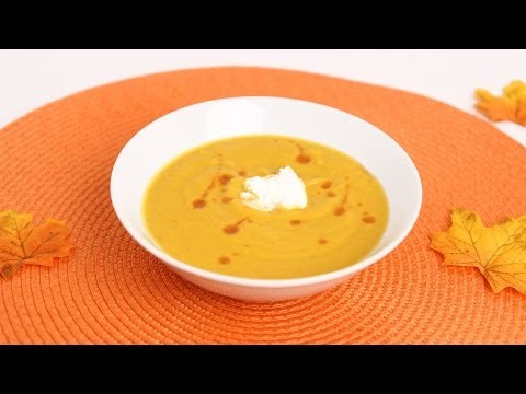 Roasted Butternut Squash Soup Recipe - Laura Vitale - Laura In The Kitchen Episode 660
