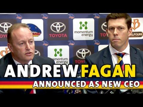 Andrew Fagan announced as CEO