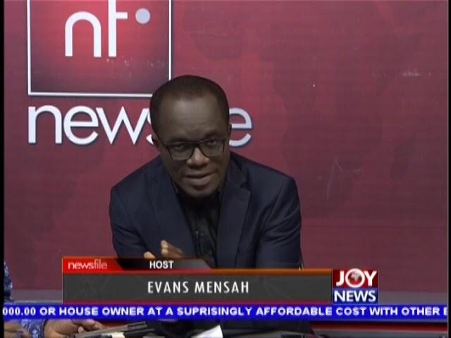 Newsfile intro on JoyNews (1-12-18)