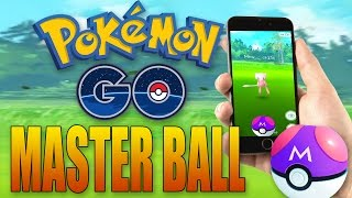 MASTER BALL GAMEPLAY IN POKEMON GO!