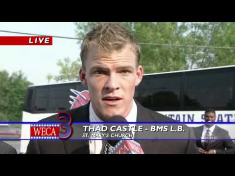 Blue Mountain State   Thad Castle Interview