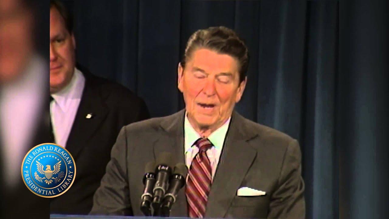 Reagan's Remarks on Congratulating Doug Flutie, the 1984 Heisman Trophy  Winner December 6, 1984