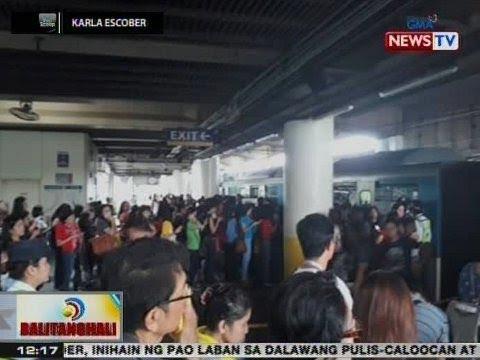BT: Mga pasahero ng MRT, pinababa matapos magkaroon ng technical problem