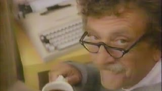 "1984 COFFEE GENERATION ad - ""Be a COFFEE ACHIEVER !"" (Kurt Vonnegut was)"