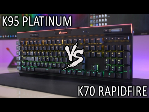 Corsair K95 Platinum Review - Worth the extra over the K70 RGB?