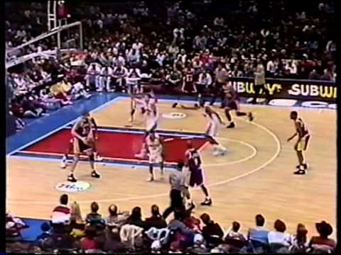 Eddie Jones Two Amazing Dunks Over Shawn Bradley 1995