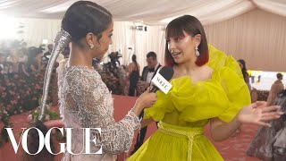 Charli XCX on Feeling Free in Couture | Met Gala 2019 with Liza Koshy | Vogue