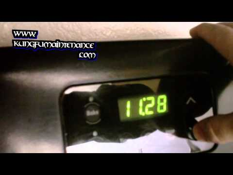 How To Reset Or Program Clock Time On Appliances Ranges Stoves And Microwaves