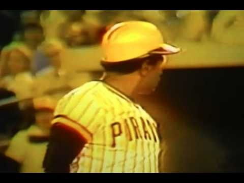 """Willie Stargell"" Accidental Foul Ball! ""Pittsburgh Pirates"""