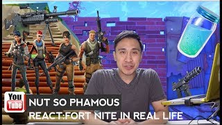 reagire Fortnite real life smosh edition