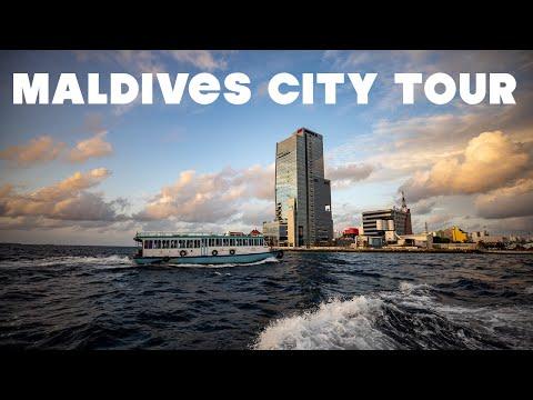 Maldives City Tour - Places to visit in Male', capital city | Maldives Vlog