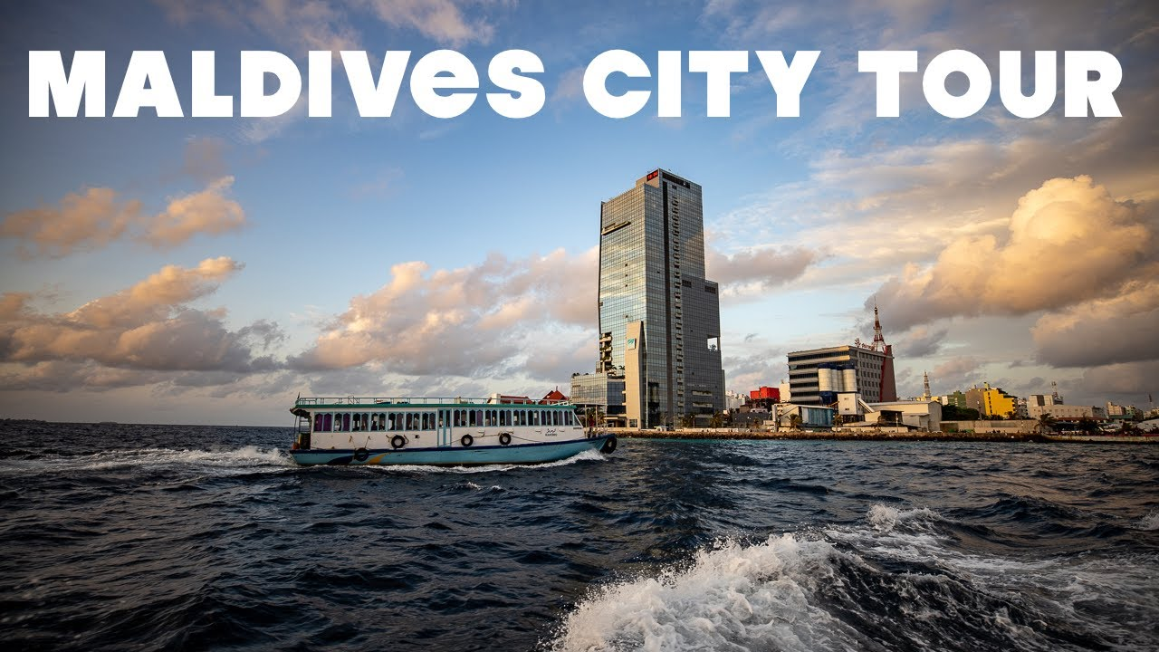 Maldives City Tour - Places to visit in Male', capital city   Maldives Vlog