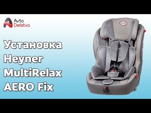 КАК УСТАНОВИТЬ Heyner MultiRelax AERO Fix