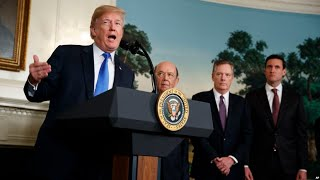BREAKING CNN NEWS TRUMP-Trump Threatens New Tariffs on Trading Partners