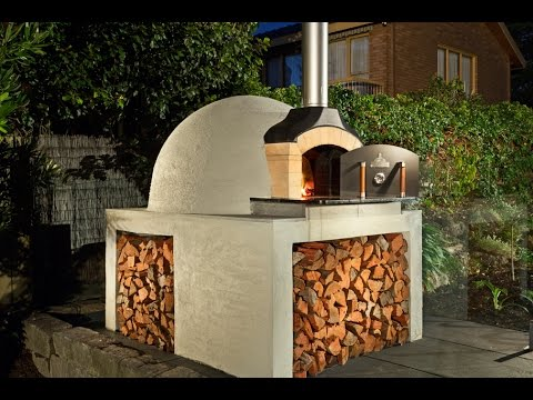 how to build a wood fired brick oven youtube