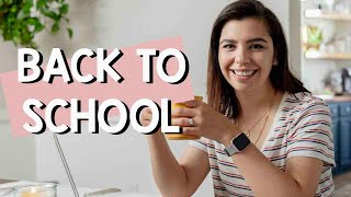 Back to School | Getting my Master's Degree... Finally!