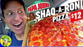 Papa John's® SHAQ-A-RONI PIZZA...